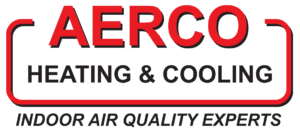 AERCO Heating & Cooling Anderson Indiana Footer Logo