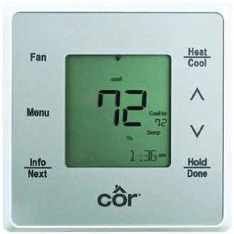 Côr 5C Wi-Fi Thermostat Model TSTWHA01