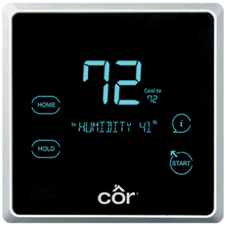Côr 7 Thermostat Model TSTPRH01